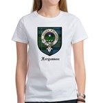 Fergusson Clan Crest Tartan Women's T-Shirt
