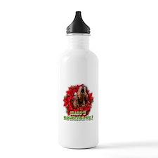 Redbone Coonhound baying Water Bottle