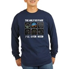 My Only Six Pack D Long Sleeve T-Shirt