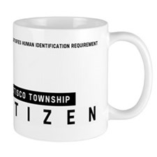Otisco Township Citizen Barcode, Mug