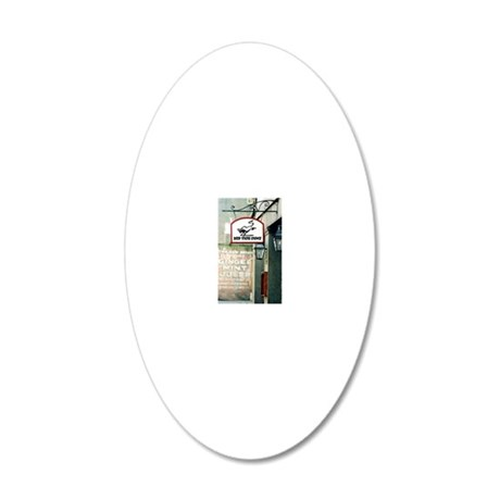 Dirty South 20x12 Oval Wall Decal