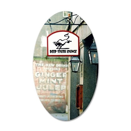 Dirty South 35x21 Oval Wall Decal
