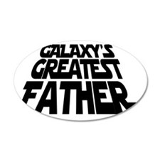 father black 2 Wall Decal