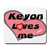 keyon loves me  Mousepad