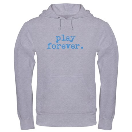 Leagueapps Men's Play Forever Hooded Sweatshirt