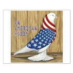 Patriotic Hobby West Small Poster