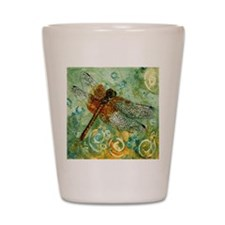 Dragonfly Away Shot Glass