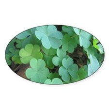 Clover Decal