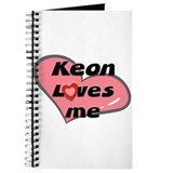 keon loves me Journal