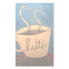 Latte Decal