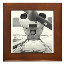 Cute Airplane photography Framed Tile
