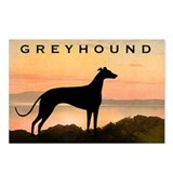 Greyhound Sunset Postcards (Package of 8)