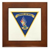 Carrier Air Wing FIVE Framed Tile