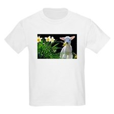EASTER LAMB AND FLOWERS T-Shirt