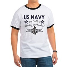 NAVY Daddy defending freedom T