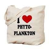 I Heart PhytoPlankton Tote Bag