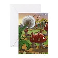Dandelion Journal Greeting Card