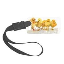 Baby Chicks Luggage Tag
