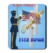 Large Poster Never Forget-Ever Honor Mousepad