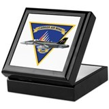Carrier Air Wing FIVE Keepsake Box