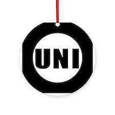 UNI Ornament (Round)