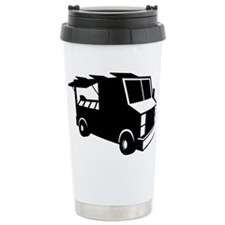Food Truck Ceramic Travel Mug
