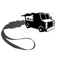Food Truck Luggage Tag