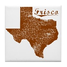Frisco, Texas (Search Any City!) Tile Coaster