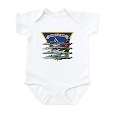 Carrier Air Wing FIVE Infant Bodysuit