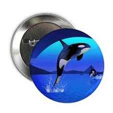 "orca_ornament 2.25"" Button"
