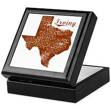 Irving, Texas (Search Any City!) Keepsake Box