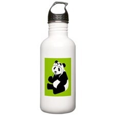 pandahat_mug_G Water Bottle