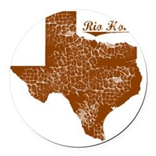 Rio Hondo, Texas (Search Any City Round Car Magnet