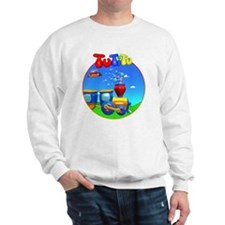 TuTiTu Train bubbles 2 Sweatshirt