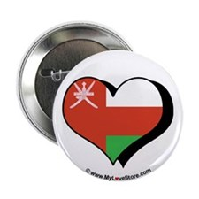 "I Love Oman 2.25"" Button (100 pack)"