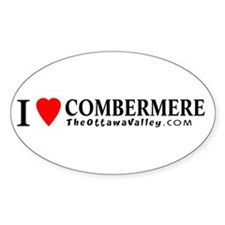 I heart Combermere Oval Decal