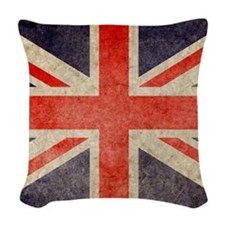 Pillow Faded UK Woven Throw Pillow