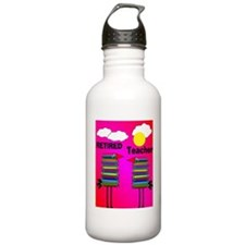 ff ret teacher 2 Water Bottle