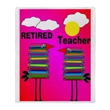 ff ret teacher 2 Throw Blanket