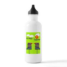 ff ret teacher 1 Sports Water Bottle