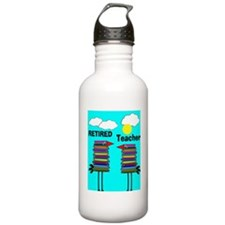 ff ret teacher 3 Sports Water Bottle