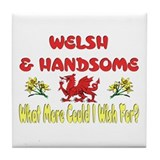 ...Welsh & Handsome... Tile Coaster