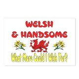 ...Welsh & Handsome... Postcards (Package of 8)