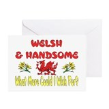 ...Welsh & Handsome... Greeting Cards (Pk of 10)