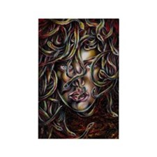 Medusa No. Three Rectangle Magnet