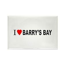 I heart Barry's Bay Rectangle Magnet (100 pack)