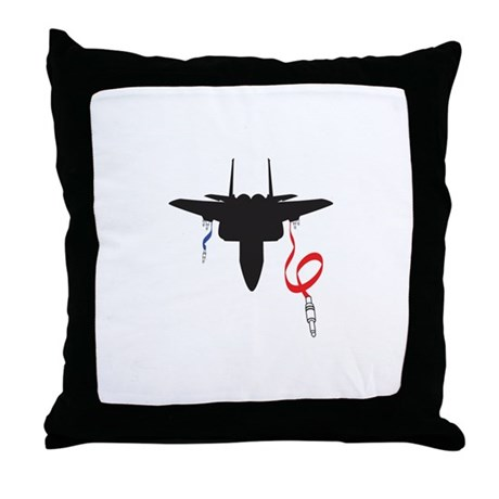 Throw Jet Fighter Pillow