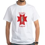 The Knights Templar White T-Shirt