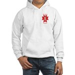 The Knights Templar Hooded Sweatshirt