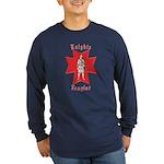 The Knights Templar Long Sleeve Dark T-Shirt